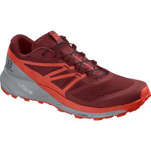 Salomon Sense Ride 2 Shoes Herr red dahlia-cherry tomato-quarry red dahlia-cherry tomato-quarry