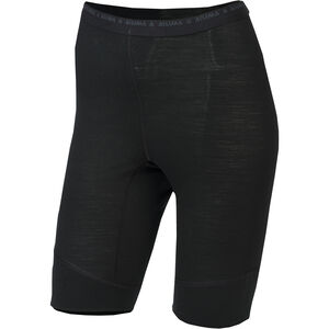 Aclima Lightwool Long Shorts Dam jet black