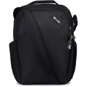 Pacsafe Vibe 200 Crossbody Bag jet black jet black