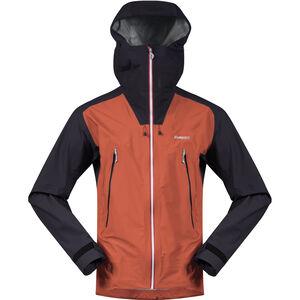 Bergans Slingsby 3L Jacket Herr Lava/Dark Navy/Silver Grey Lava/Dark Navy/Silver Grey