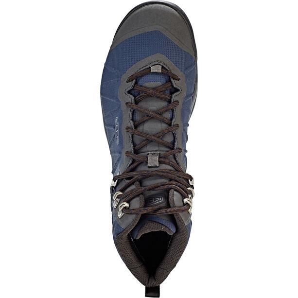 Keen Venture WP Mid Shoes Herr blue nights/raven