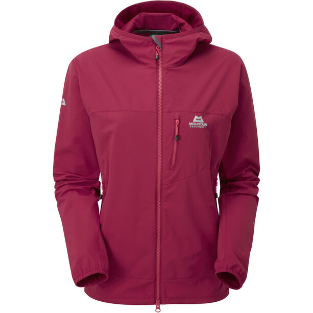 Mountain Equipment Echo Hooded Jacket Dam sangria