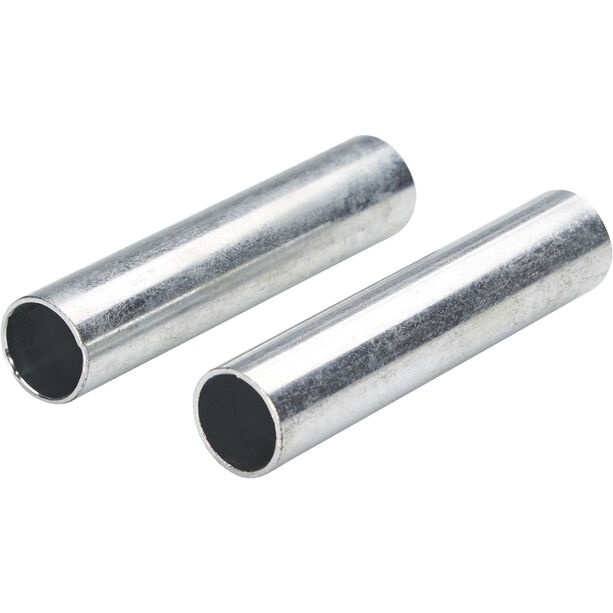 CAMPZ Sleeves for glass fibre poles 13mm Set of 2 silver