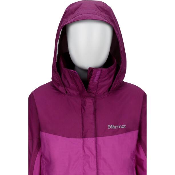 Marmot PreCip Jacket Flickor neon berry/grape