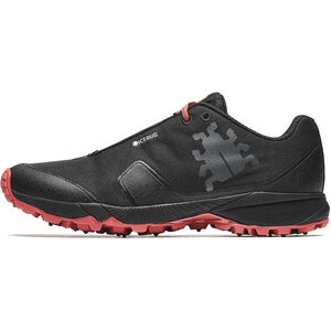 Icebug Pytho4 BUGrip Shoes Herr black/ruby black/ruby