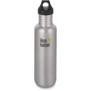 Klean Kanteen Classic Bottle Loop Cap 800ml brushed stainless brushed stainless