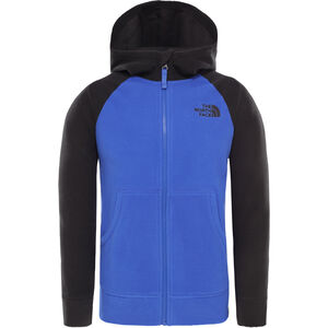 The North Face Glacier Full Zip Hoodie Jacket Pojkar TNF Blue TNF Blue
