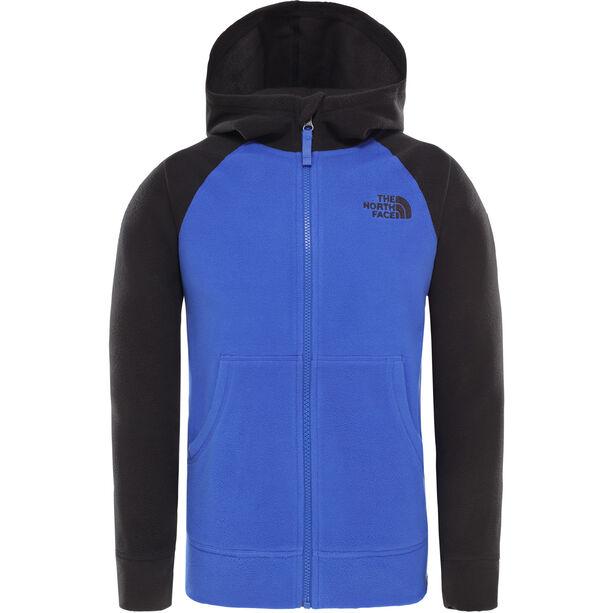 The North Face Glacier Full Zip Hoodie Jacket Pojkar TNF Blue