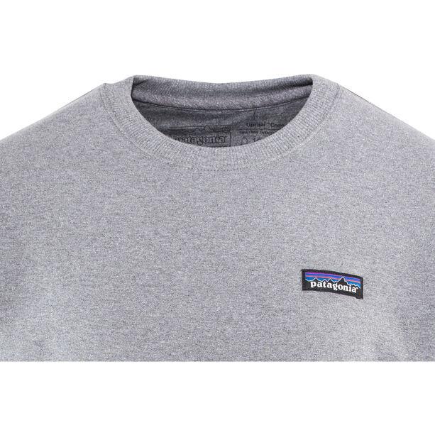 Patagonia P-6 Label Uprisal Crew Sweatshirt Herr gravel heather