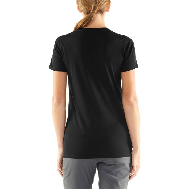Icebreaker Tech Lite Solo SS Scoop Shirt Dam black
