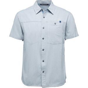 Black Diamond Chambray Modernist SS Shirt Herr blue steel blue steel