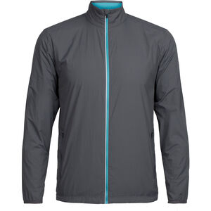 Icebreaker Incline Windbreaker Jacket Herr monsoon/mediterranean monsoon/mediterranean