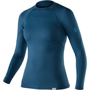 NRS Rashguard Long Sleeve Shirt Dam moroccan blue moroccan blue