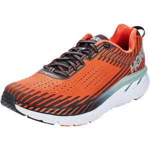 Hoka One One Clifton 5 Running Shoes Herr nasturtium/phantom nasturtium/phantom