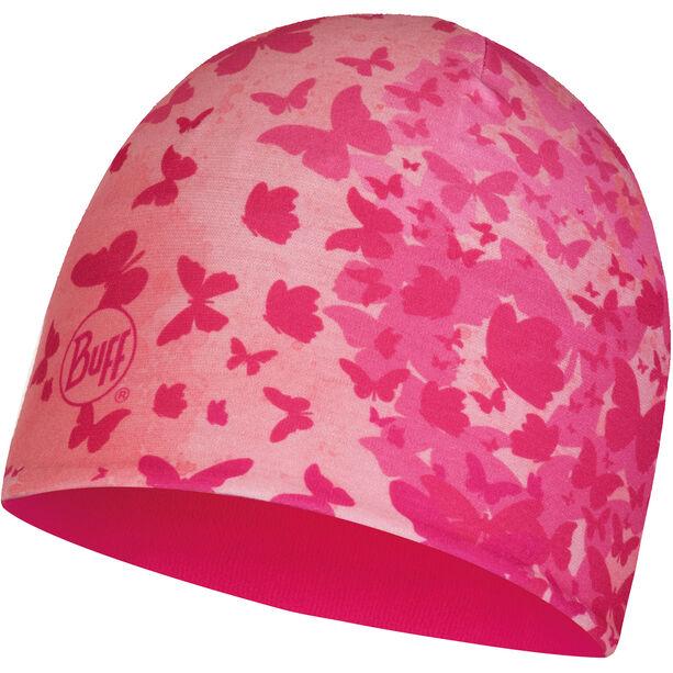 Buff Microfiber & Polar Hat Barn butterfly pink