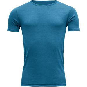 Devold Breeze T-shirt Herr blue melange blue melange