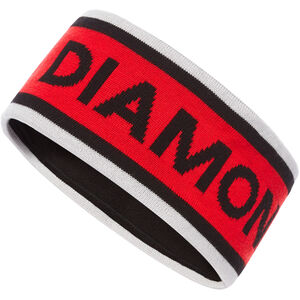 Black Diamond Flagstaff Headband Alloy/Hyper Red/Black Alloy/Hyper Red/Black