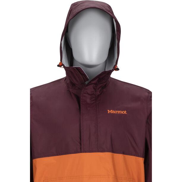 Marmot PreCip Anorak Herr burgundy/tangelo
