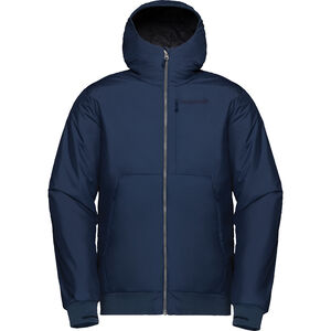 Norrøna Røldal Insulated Hood Jacket Herr indigo night indigo night