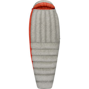 Sea to Summit Flame Fm III Sleeping Bag long Women light grey/paprika light grey/paprika