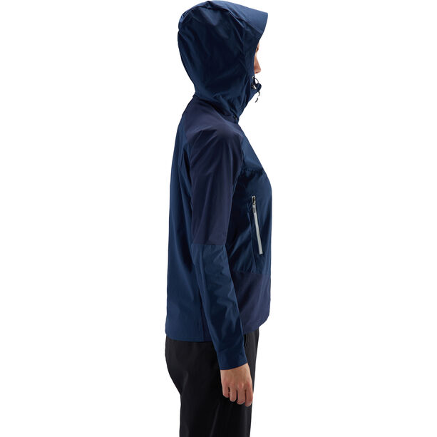 Haglöfs Skarn Hybrid Jacket Dam tarn blue/haze