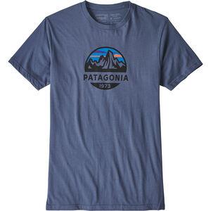 Patagonia Fitz Roy Scope Organic T-shirt Herr dolomite blue dolomite blue
