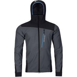 Ortovox Pala Jacket Herr black steel black steel