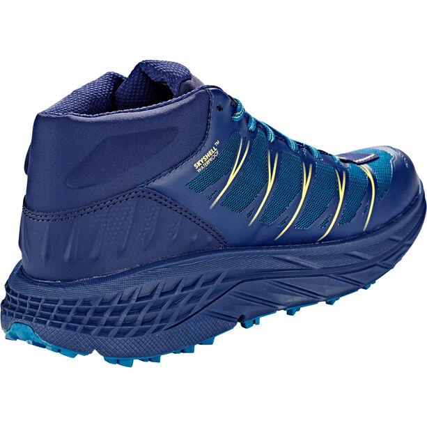 Hoka One One Speedgoat Mid WP Hiking Shoes Dam seaport/medieval blue