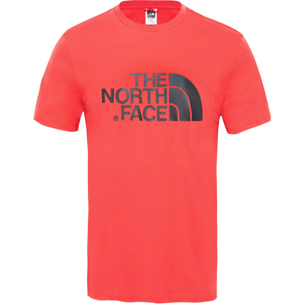 The North Face Easy S/S Tee Herr salsa red
