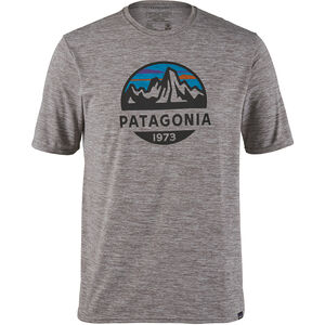 Patagonia Cap Cool Daily Graphic T-shirt Herr fitz roy scope/feather grey fitz roy scope/feather grey