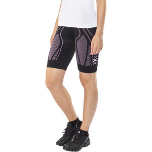 X-Bionic The Trick Running Pants Short Dam black/pink black/pink
