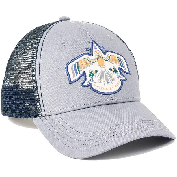 United By Blue Thunderbird Trucker Hat Steel Grey