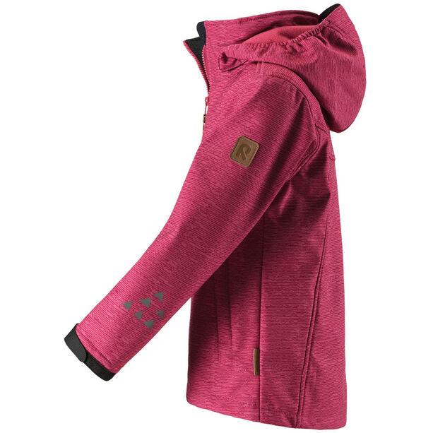 Reima Mingan Softshell Jacket Barn rose