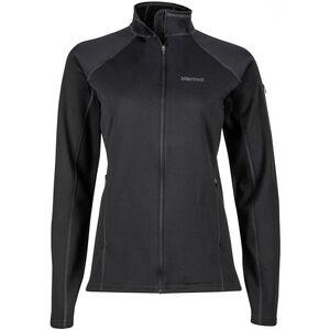Marmot Stretch Fleece Jacket Dam black black
