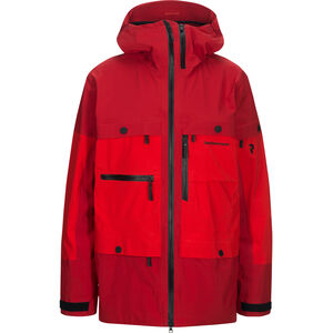 Peak Performance Vertical Jacket Herr Dark Chilli Dark Chilli