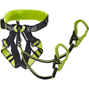 Edelrid Jester Comfort Harness and Via Ferrata Set night-oasis night-oasis