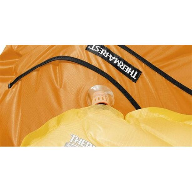 Therm-a-Rest NeoAir Pump Sack & Chair Kit daybrake orange