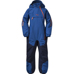 Bergans Lilletind Insulated Coverall Barn Classic Blue/Navy/Bright Magma Classic Blue/Navy/Bright Magma