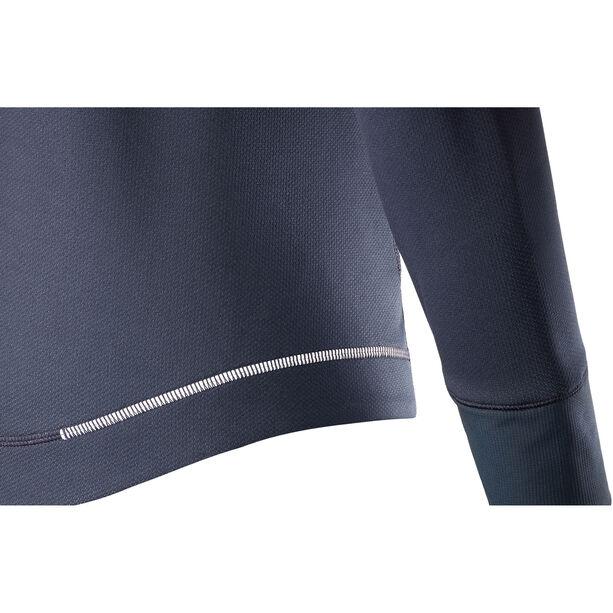 Salomon Agile LS Hoodie Dam graphite heather/yucca