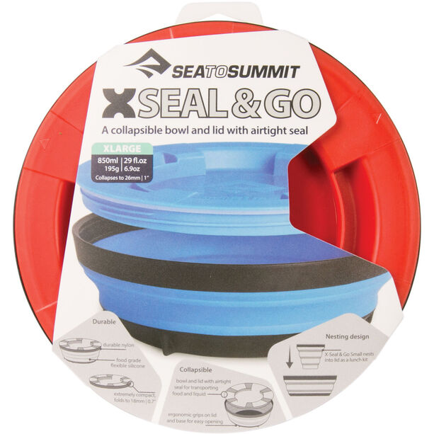 Sea to Summit X-Seal & Go X-Large red