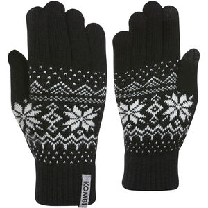 KOMBI Scandinave PP Gloves Dam Black Black