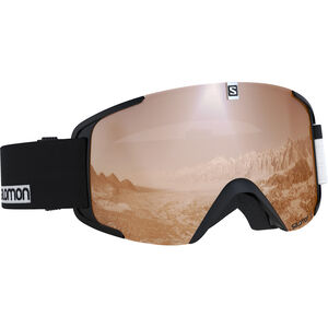 Salomon Xview Goggles black/white black/white