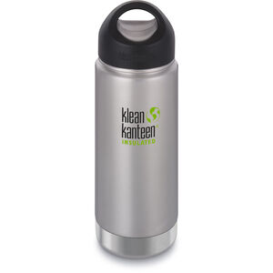 Klean Kanteen Wide Vacuum Insulated Bottle Stainless Loop Cap 473ml brushed stainless brushed stainless