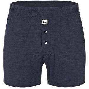 super.natural Base 175 Wide Boxer Shorts Herr navy blazer navy blazer
