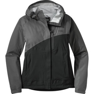 Outdoor Research Panorama Point Jacket Dam charcoal herringbone/black charcoal herringbone/black