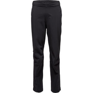 Black Diamond Stormline Stretch Full Zip Rain Pants Herr black black