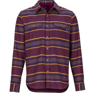 Marmot Zephyr Cove Midweight Flannel LS Shirt Herr Fig Fig