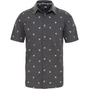 The North Face Baytrail Jacquard Shirt Herr weather dark black heather hatchet jacquard weather dark black heather hatchet jacquard