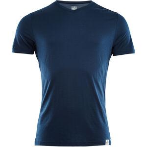 Aclima LightWool T-shirt Herr insignia blue insignia blue