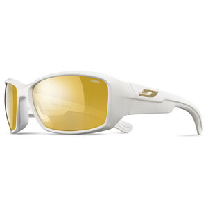 Julbo Whoops Zebra Sunglasses shiny white-yellow/brown shiny white-yellow/brown